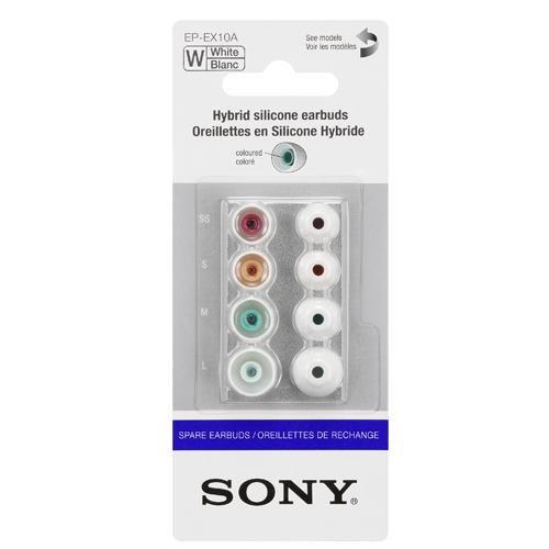 Sony EPEX 10 Ersatz Gummipolster für In-Ear-Kopfhörer weiß