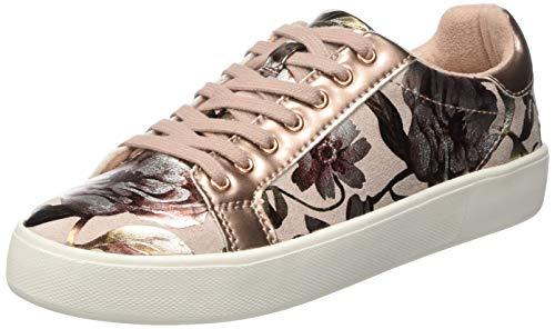 Tamaris Damen 1-1-23774-22 678 Sneaker, Pink (POWDER FLOWER 678)), 38 EU