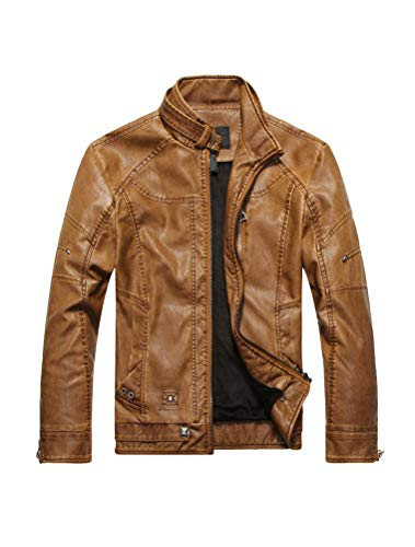 Leather Jacket Men's Outfit