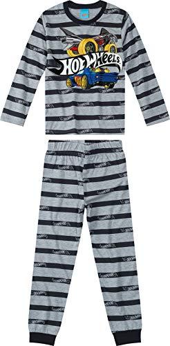 Conjunto Camiseta + Calça, Malwee Kids, Meninos, Preto, 8
