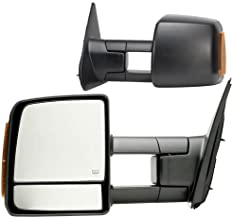 Fit System 70103-04T Toyota Tundra Driver/Passenger Side Replacement Mirror Set with Turn Signal and Dual Glass