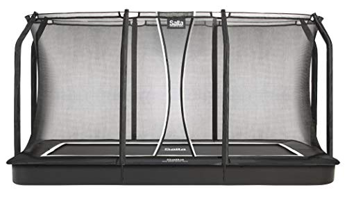 Salta Trampoline Sport Royal Baseground - Red de Seguridad para Cama elástica (244 x 396 cm, Rectangular), Color Negro