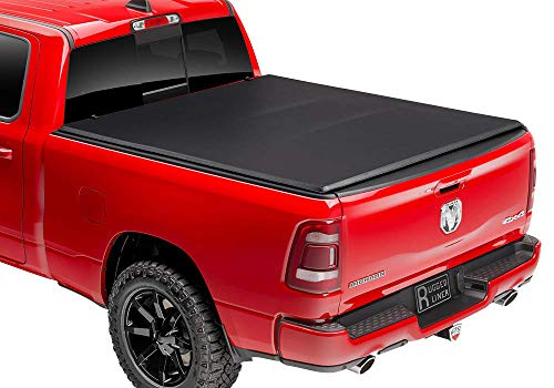 "Rugged Liner E-Series Soft Folding Truck Bed Tonneau Cover | E3-NF505 | Fits 2005 - 2021 Nissan Frontier (w/o bed extender) 4' 11"" Bed (58.6"")"
