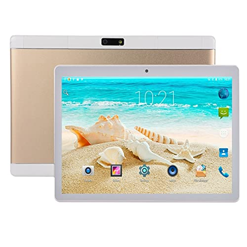 RUNNA M3 3G Llamada telefónica Tablet PC, 10.1 Pulgadas, 2GB + 32GB, Android 4.4 MTK6592 Octa Core 1.3GHz, Dual SIM, Soporte GPS, OTG, WiFi, Bluetooth (Color : Gold)