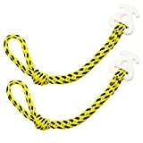 towable Tow Rope Connect 2pcs for towables Quick Attachment for Pulling a Tube on Jet Ski Water Sports Tubing Boat Tubes Quick Connect Rope for Wake Boarding Ski Waverunner Water Sports Accessories