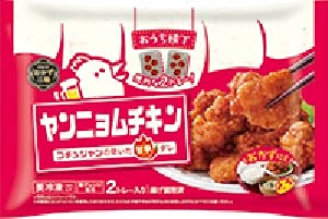 【冷凍】トロナ おうち横丁 ヤンニョムチキン X5袋