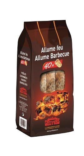 Grill O'Bois 77 Allume feu et barbecue