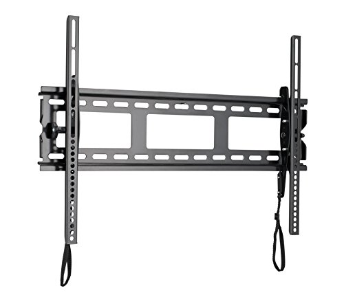 "Sanus Universal Low Profile Tilt TV Wall Mount for 37"" - 80"" LED, LCD & Plasma TVs, Eliminates Glare with 10º of Tilt & Post-Install Adjustments - 3 Step Install - Safety Certified - MLT14-B1"