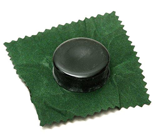 Resina verde oscuro Elagon (506), sin residuos y de alta calidad para violín, viola, violonchelo, contrabajo, etc. en caja de plástico.