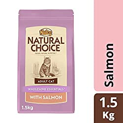NUTRO Cat WE Adult Salmon, 1.5kg (Pack of 8)