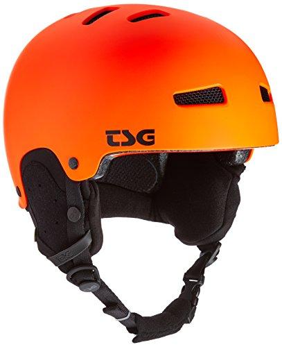 TSG Kinder Gravity Youth Solid Color Helm, Satin orange, XXS/XS