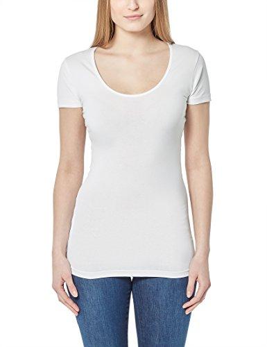 Berydale Damen T-Shirt mit Rundhalsausschnitt, Gr. X-Large, Weiß