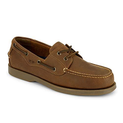 Dockers Men's Castaway Boat Shoe,Tan,13 W US