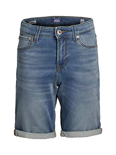 JACK & JONES Herren Jeansshorts Jungs 140Blue Denim