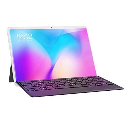 Jaimenalin Tablet PC Pantalla HD de 10 Pulgadas Android 3G Tabletas de Llamadas TelefóNicas Tarjetas Sim Dual Tableta de 10 Pulgadas Tableta Android Enchufe de la EU