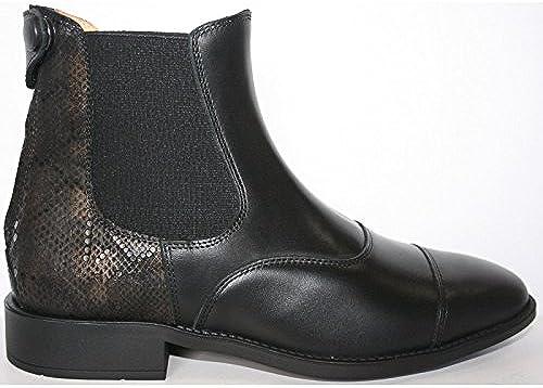 CAVALHORSE bottes en Cuir Fashion Busca Noir 39