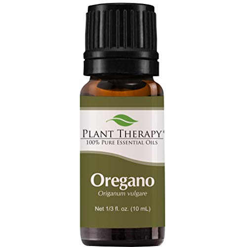 Plant Therapy Oregano Essential Oil 100% Pure, Undiluted, Natural Aromatherapy, Therapeutic Grade 10 mL (1/3 oz)