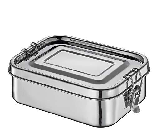 Küchenprofi Lunchbox Edelstahl flach,...
