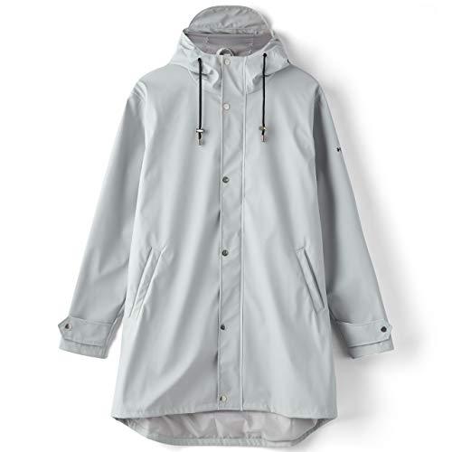 H2O Damen Regenjacke Livö Rain Jacket Light Grey hellgrau - XXL