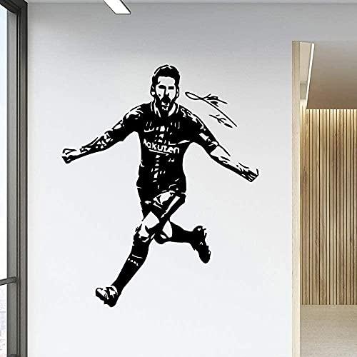 Fútbol Barcelona Etiqueta de la pared Decoración para el hogar Accesorios para Baby S Rooms Wall Art Decal57 * 69cm