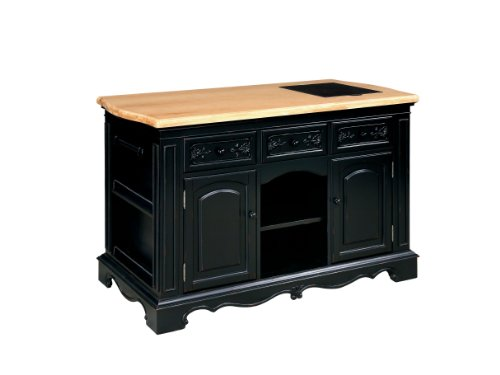 Powell Pennfield Kitchen Island and Stool