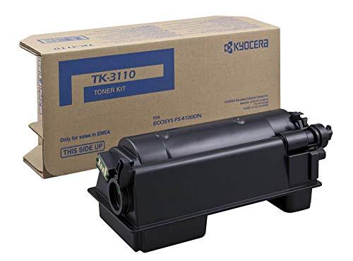 Kyocera TK-3110 Originele tonercartridge 1T02MT0NL0 zwart Compatibel met FS-4100DN, FS-4200DN, FS-4300DN