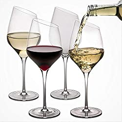 Craftware Crystal Wine Glasses (Set of 4)