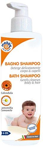 Mebby Bain/Shampooing Délicat pour Bébé - 400 ml