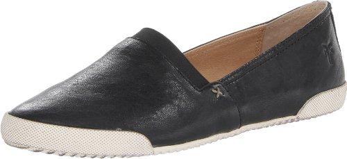 Frye Women's Melanie Slip On Sneaker, Black, 6