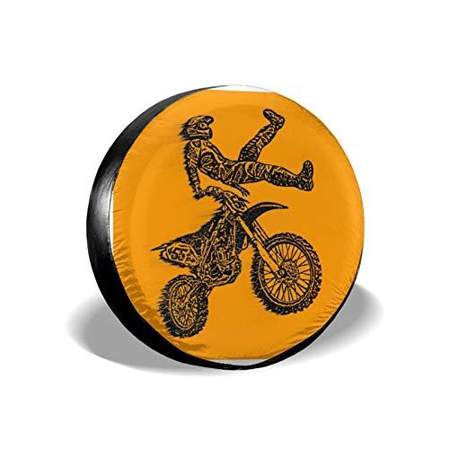LEPO'S Ersatzreifenabdeckung, Motocross, wasserdicht, staubdicht, Radschutz, passend für Jeep, Anhänger,...