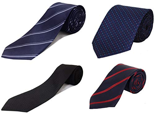 """Alcove Pack Of 4 Designer Formal Tie For Men And Boys(2.75"""" Broad)"""