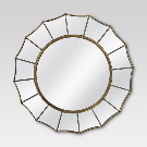 Round Decorative Wall Mirror - Threshold™ : Target