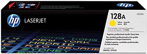 HP 128A (CE322A) Gelb Original Toner für HP Laserjet Pro CP1525, HP Laserjet Pro M1415