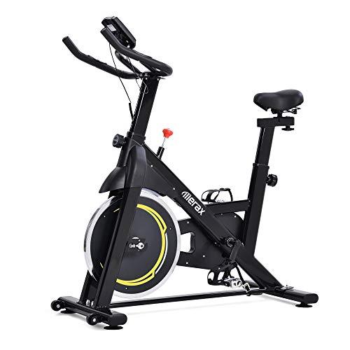 WGYDREAM Bicicleta Estática Spinning Bici Ejercicio Bicicleta De Ciclismo Interior con 8kg Flywheel Magnetic Belt Drive Ejercicio Bicicleta para El Hogar Gimnasia