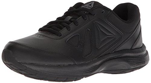 Reebok Walk Ultra 6 DMX Max Chaussure de marche pour homme, Noir (Noir/alliage - Large E), 38 EU
