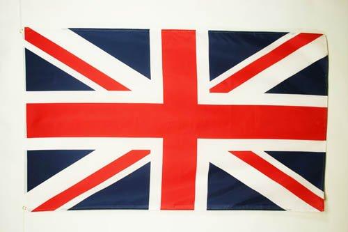 AZ FLAG Bandiera Regno Unito 150x90cm - Gran Bandiera Britannica – Inglese – UK 90 x 150 cm Poliestere Leggero - Bandiere