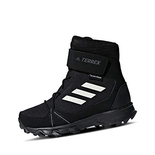 adidas Unisex-Kinder Terrex Snow Cf Cp Cw K S80885 Schneestiefel, Schwarz (Negbas/Blatiz/Gricua 000), 38 EU