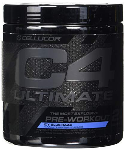 Cellucor C4 Ultimate Icy Blue Razz Acide Aminé