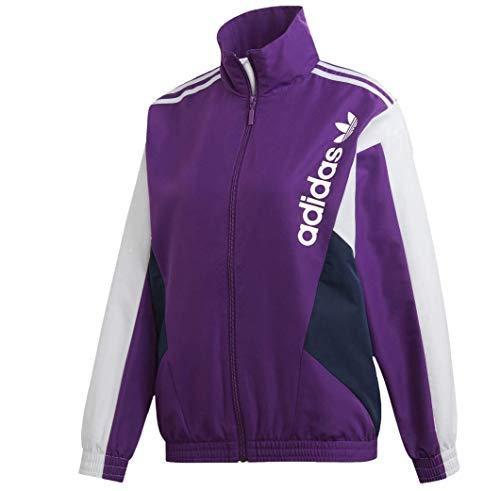 Adidas Originals Ec2178 - Camiseta de manga corta para mujer - Morado - Small