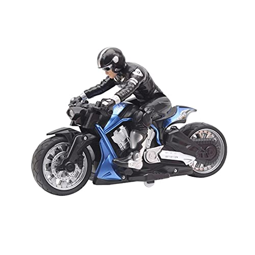 RC Motorrad mit Batterien Stunt Motorcycle Balance Stunt RC Motorrad 2.4g drahtlose Fernbedienung Rennmotorrad Hobby 6 Jahre alt ältere Straßenrennen Teenager Erwachsene Kinder Geburtstag Ostern für