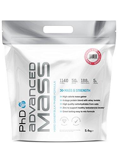 PhD Nutrition Advanced Mass 5,4 Kg Strawberries Creme