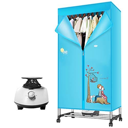 Concise Home Secador eléctrico 1200W de Gran Capacidad 15 kg Doble de Acero Inoxidable, de Interior Aire Caliente Secado Armario