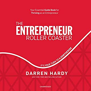 The Entrepreneur Roller Coaster audiobook cover art