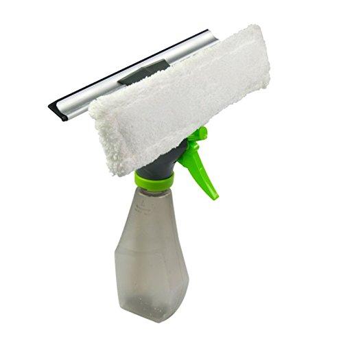 240ml Sprühflasche Fensterwischer Fensterreiniger Gummiabzieher Scheibenreiniger Mikrofasertuch Set