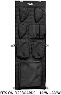 STEALTH MOLLE Gun Safe Door Panel Organizer Small - Fully Customizable & Adjustable Storage Solution