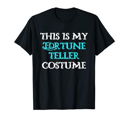 Este es mi disfraz de adivino Halloween Lazy Easy Camiseta