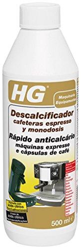 HG anticalcare per macchine da caffè espresso e con cialde