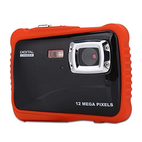 Onderwatercamera voor kinderen, 1080P HD-video met geluidsopname, 4 keer digitale zoom, 3 meter waterdicht, 2,0 inch TFT high-definition scherm, USB-connectiviteit, ideaal cadeau voor uw kinderen in d