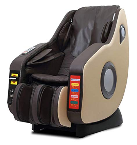 lcc Sillón de Masaje multifunción automático para Todo el Cuerpo, Masaje Shiatsu de Golpe, Silla de relajación Completamente ensamblada, Silla de TV, Ahorro de Espacio para la Oficina en casa