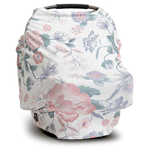 Learn More About Moody Park - (Olivia) Floral Nursing Cover Carseat Canopy, Carseat Covers for Babie...